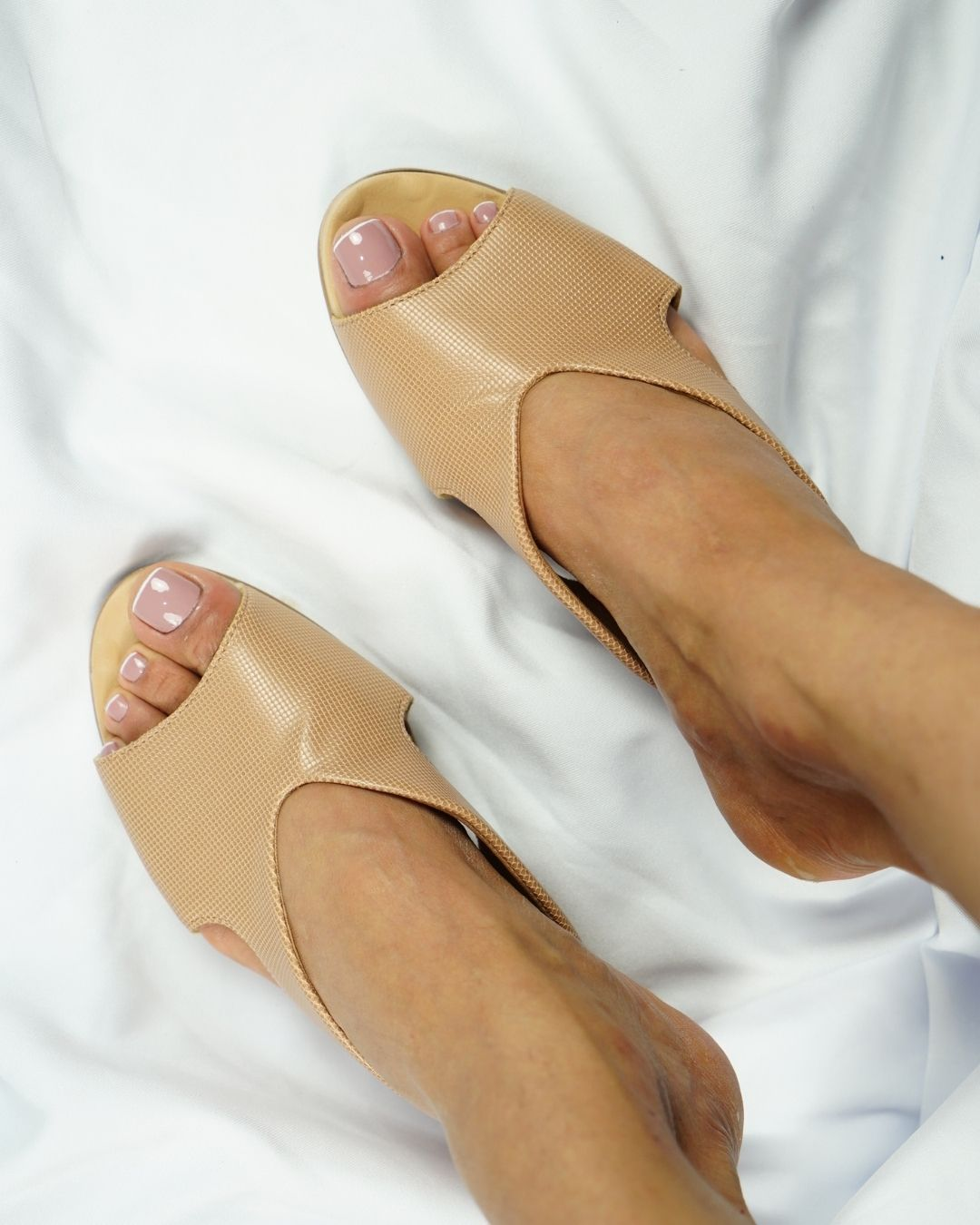 Tamanco  Malu Super Comfort  Nude  V22.622035
