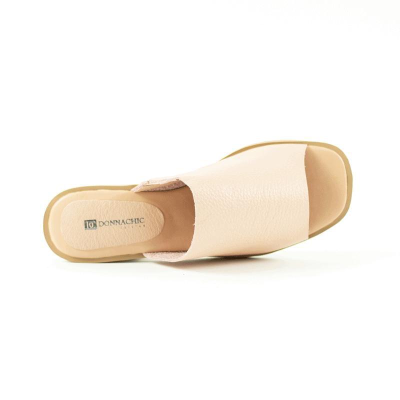 Tamanco Mule Comfy Rebeca Floater Rosa Antigo