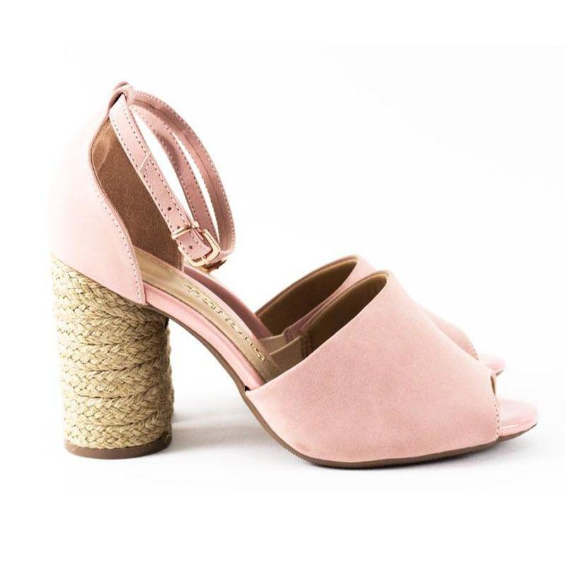 Sandália Ankle Rose Mariotta
