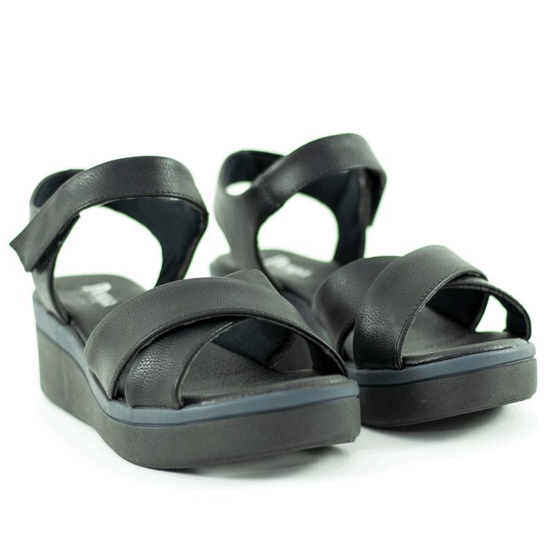 Sandália Confort Pelle  Preto
