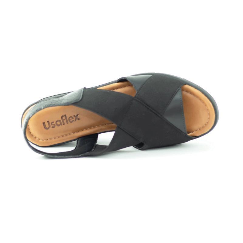 Sandália Usaflex com elástico AA1009