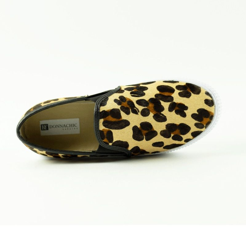 Slip On Meg Pelo Leopardo
