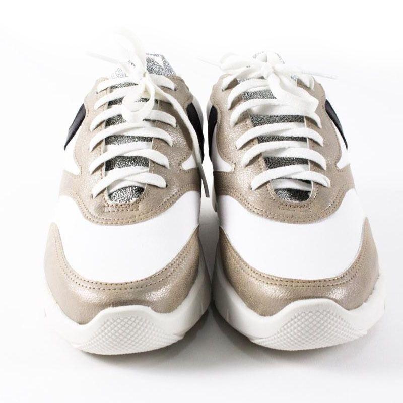 Tênis Chunky Sneakers Dourado