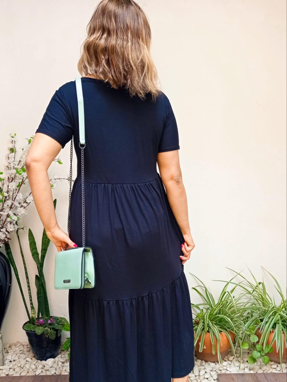 Vestido Comf Norah Preto