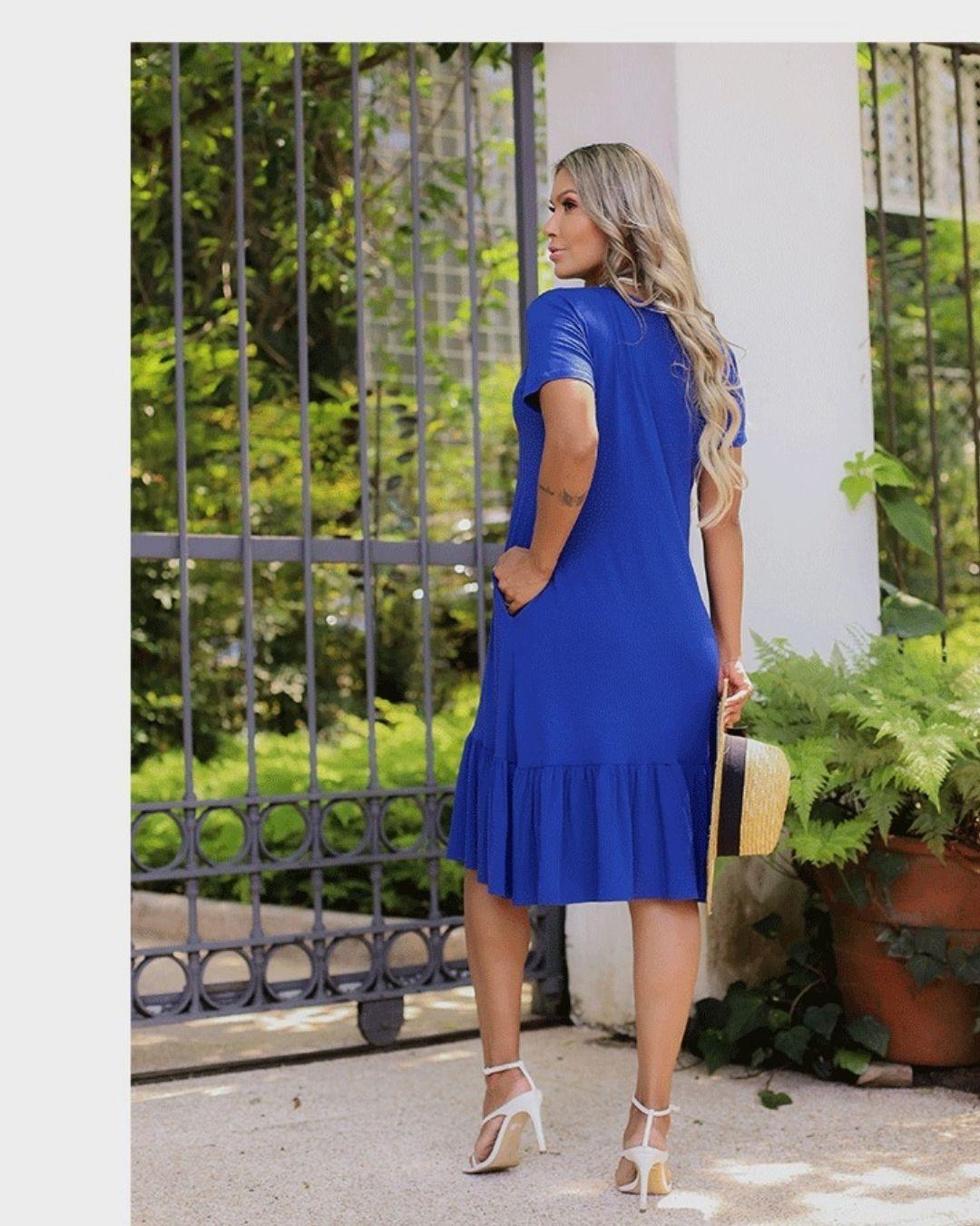 Vestido Malha Comfy Malibu Bic