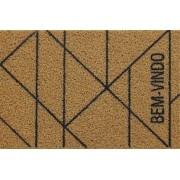 CAPACHO SUPER PRINT BEM VINDO - 60X40