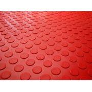 laminado pvc moeda vermelho
