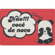 tapete divertido panda 0,60m x 0,40m cod 0031