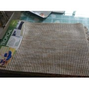 TAPETE TROPICAL BEGE 0,65X0,43