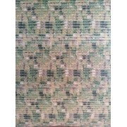 TAPETE TROPICAL VERDE 0,65X1,00