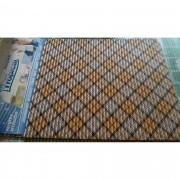 TAPETE TROPICAL XADREZ 0,65X0,43
