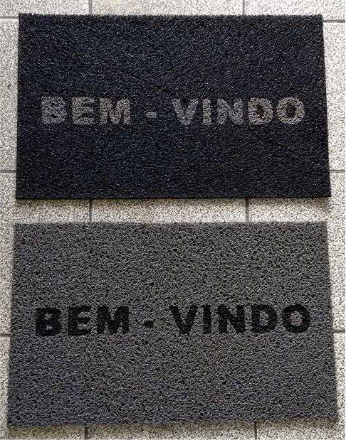 CAPACHO BEM VINDO 60X40 OUTLET