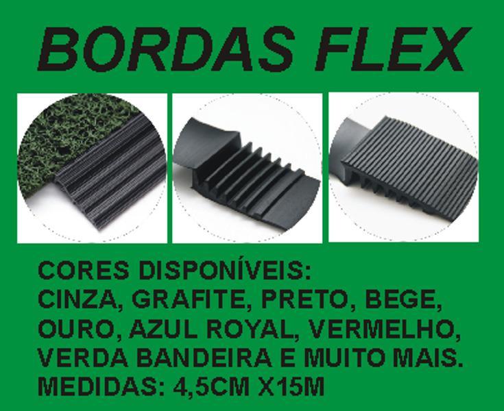 CAPACHOS PERS. PINTADO COM LOGO E BORDAS REBAIXADAS FLEX