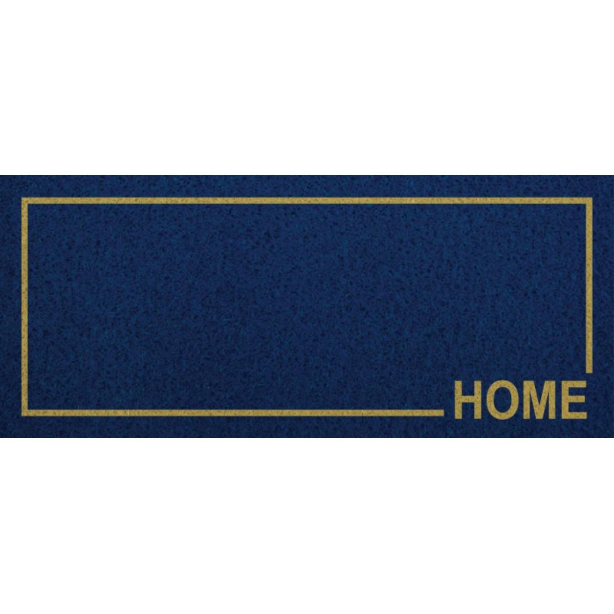 CAPACHO VINIL LONG HOME MOLDURA - 30X70