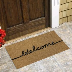 CAPACHO VINIL LONG WELCOME - 30X70