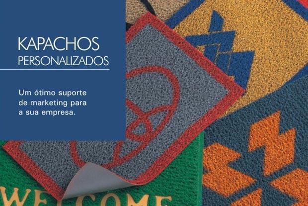 Capachos pers. vulc. com logo e bordas - Silver base fundida
