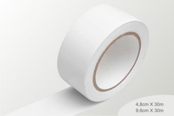 fita de demarcação branca