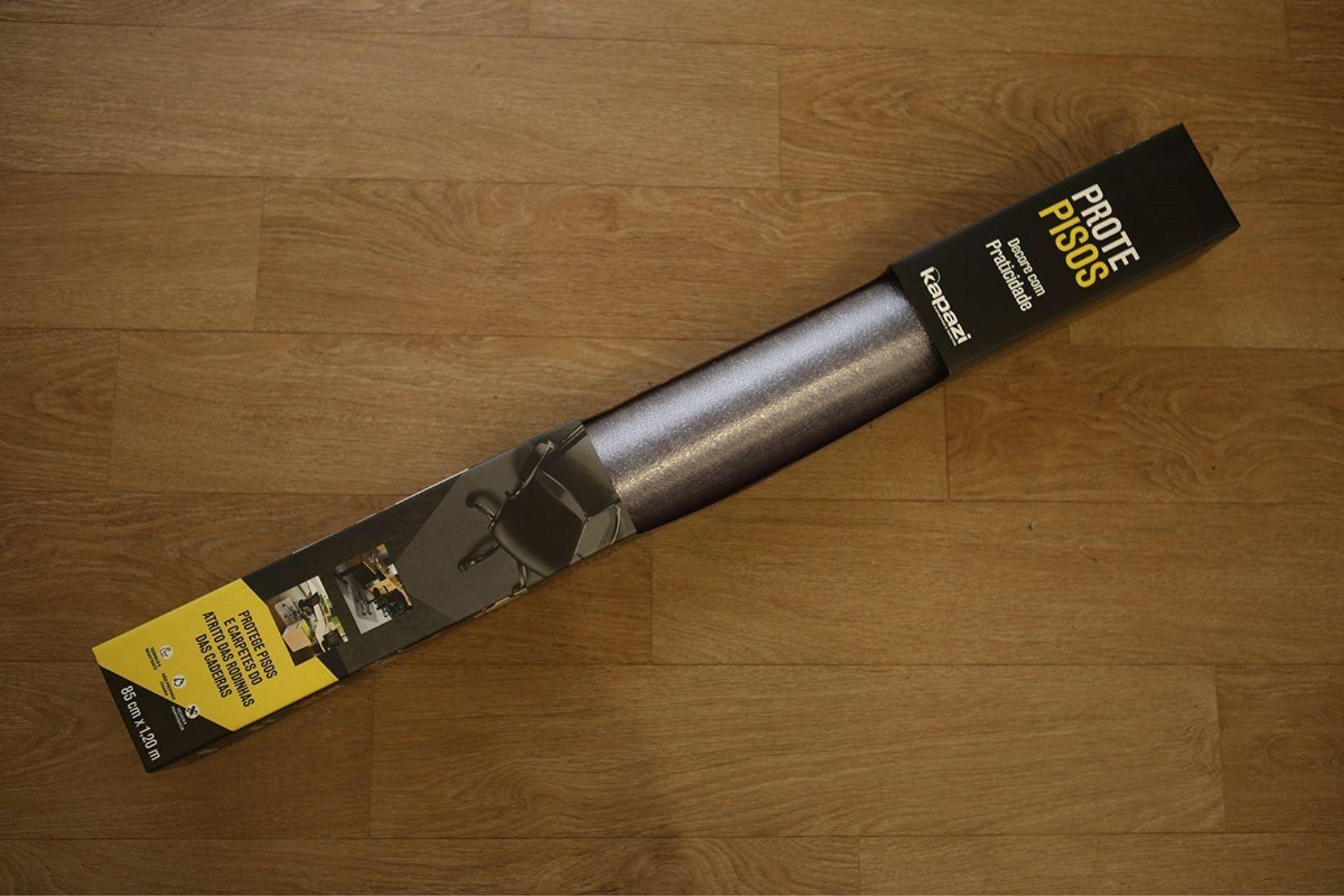 protepiso flexível transparente p/ madeira ou piso