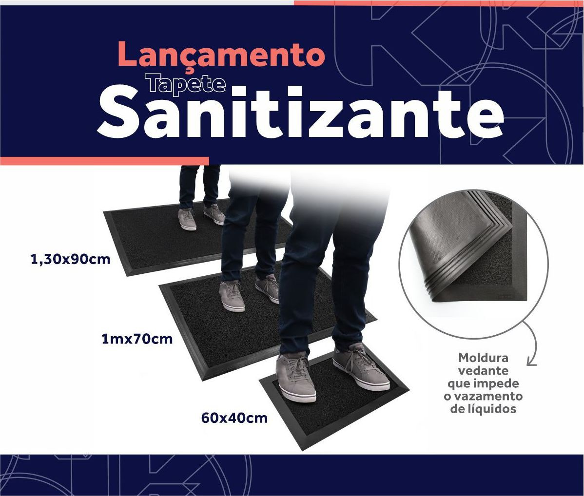 Tapete Sanitizante kit ( 1 Tapete Sanitizante + 1 Tapete Duo )