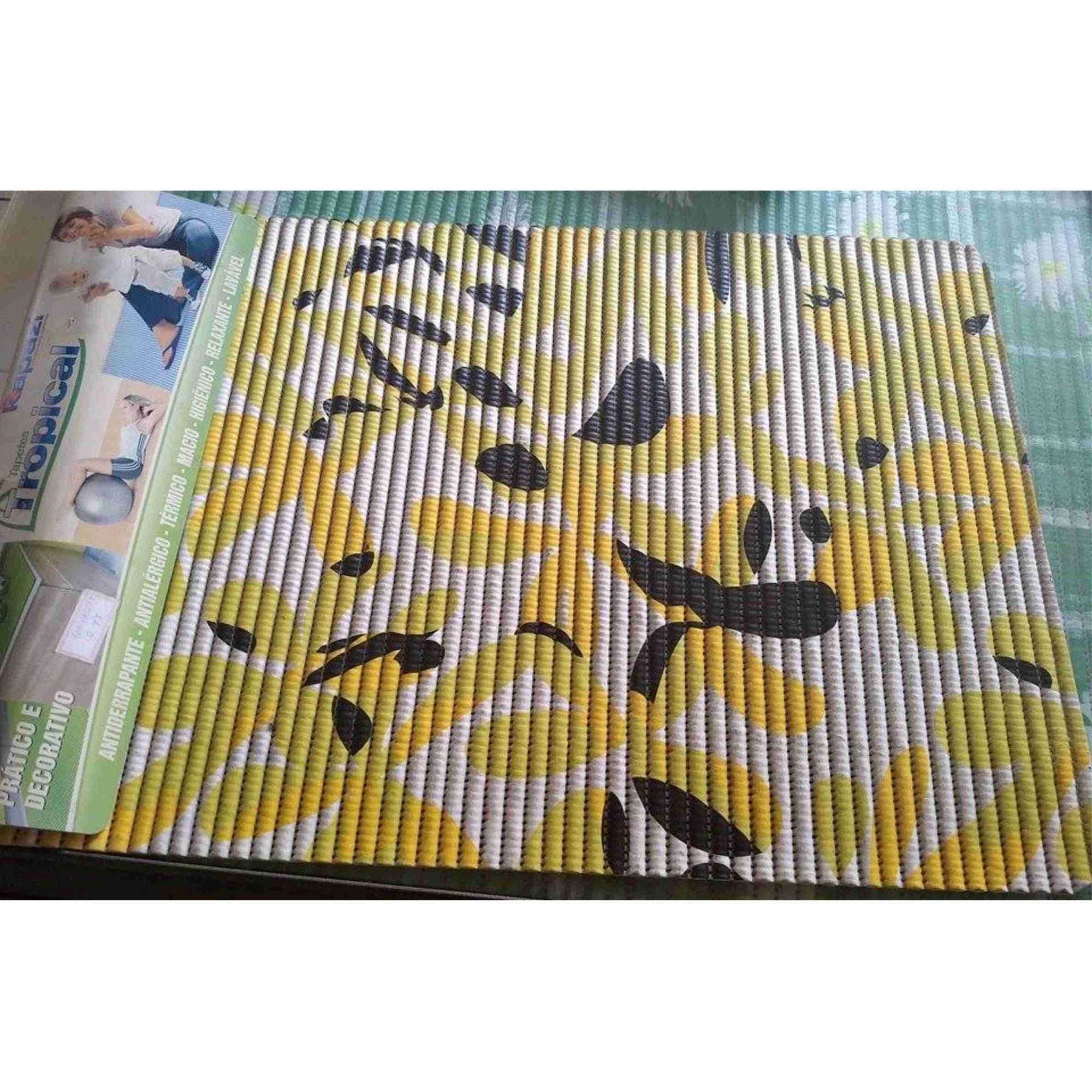 Tapete Tropical Floral 0 65×0 43 Rodapex Tapetes Personalizados -> Tapete De Sala Pintado