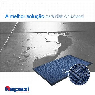 tapete waterkap azul
