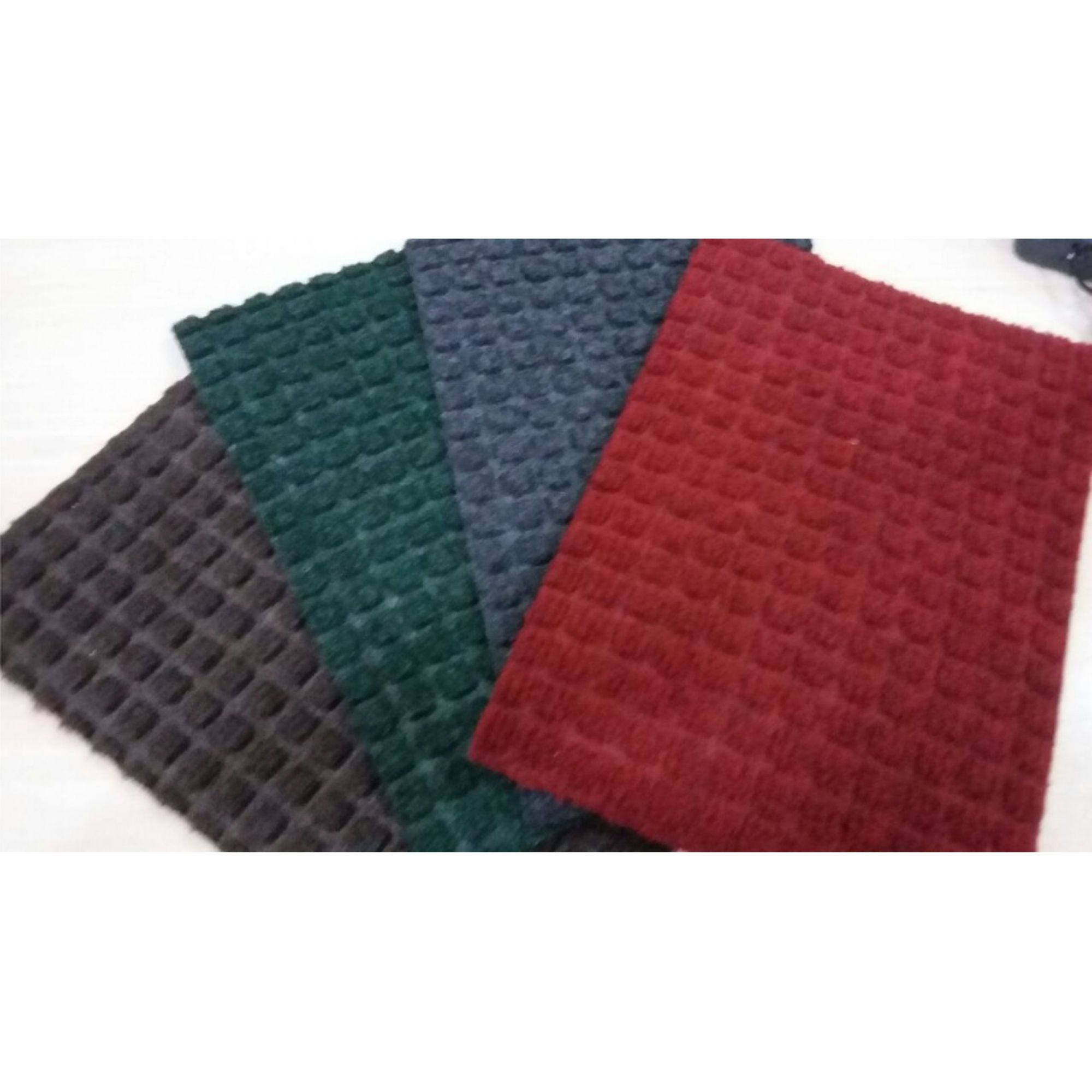 tapete waterkap vermelho com bordas flex