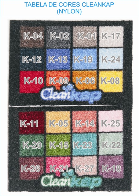 tapetes personalizados cleankap (nylon)