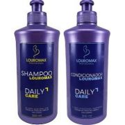 Kit Shampoo Louromax 300ml e Condicionador 300ml Daily Care