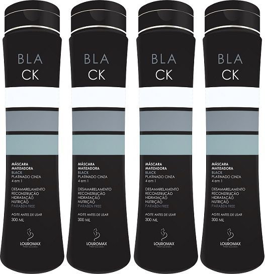 Kit Matizador Black 300ml 4Und