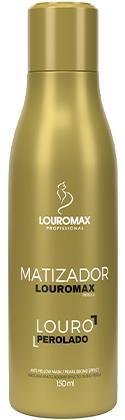 Matizador Louromax Pérola - Efeito Louro Perolado - 150ml