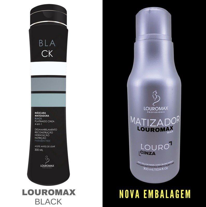 Matizador Louromax Black 300ml