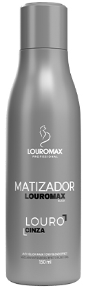 Matizador Louromax Black - Efeito Louro Acinzentado - 150ml