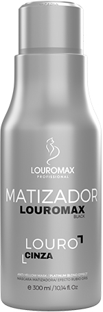 Matizador Louromax Black - Efeito Louro Acinzentado - 300ml