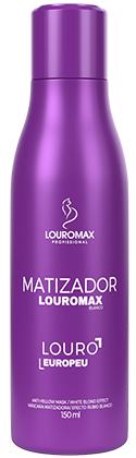 Matizador Louromax Blanco - Efeito Louro Europeu - 150ml
