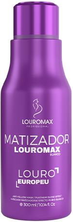 Matizador Louromax Blanco - Efeito Louro Europeu - 300ml