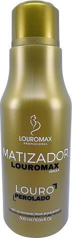 Matizador Louromax Pérola - Efeito Louro Perolado - 300ml