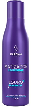 Matizador Louromax Tradicional - Efeito Louro Platinado - 150ml