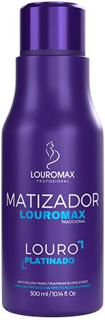 Matizador Louromax Tradicional - Efeito Louro Platinado - 300ml
