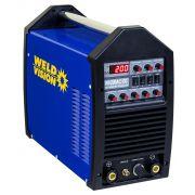 Inversora de solda Tig Aluminium 200 Pulse 220V - Weld Vision