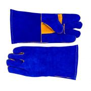 Luva MIG BW09 Azul e Caramelo