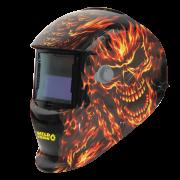 Máscara de Solda Automática Caveira