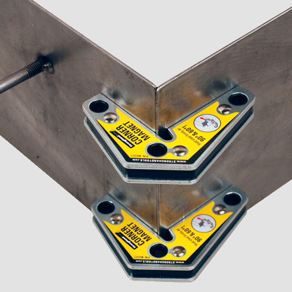 Esquadro Magnético para Ângulos de 60º - 90º  Duas Unidades