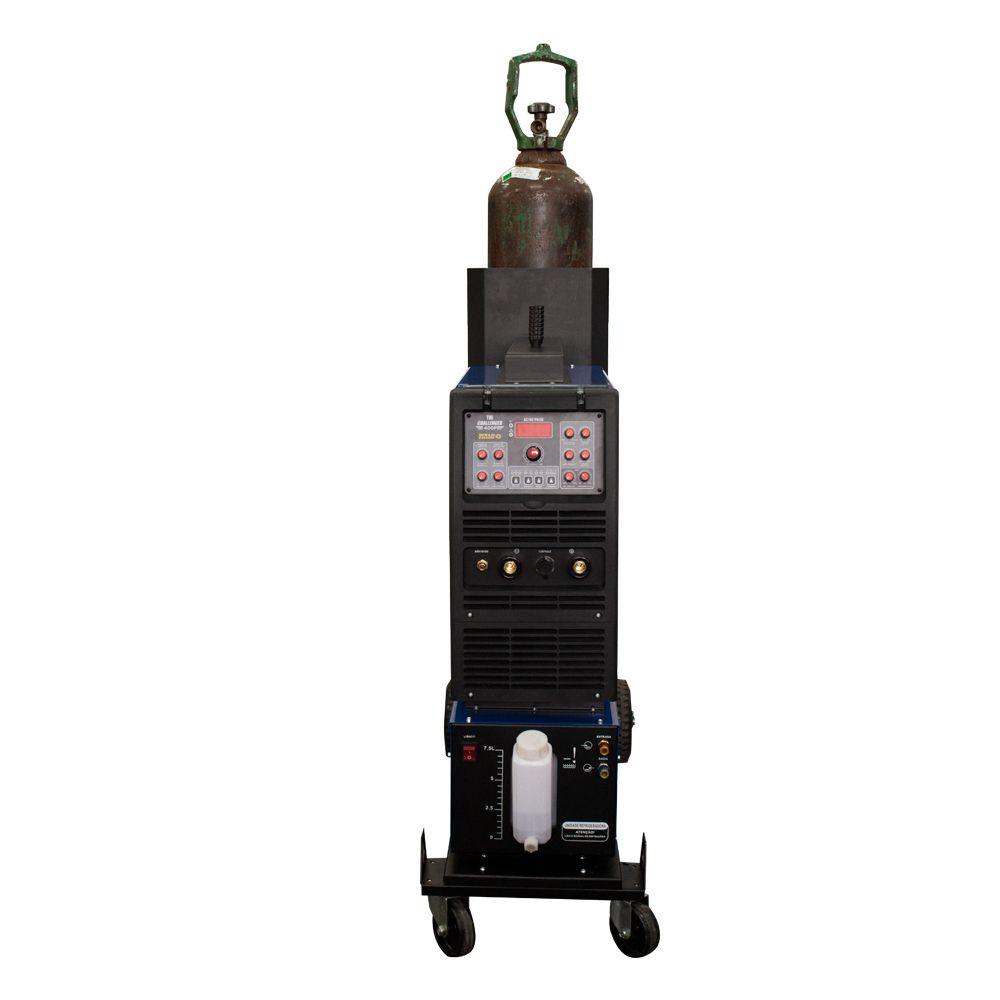 Conjunto Inversora de Solda TIG Challenger 400 Pulse AC/DC + Unidade Refrigeradora 7,5 Litros + Carrinho para Transporte + Pedal de Acionamento TIG