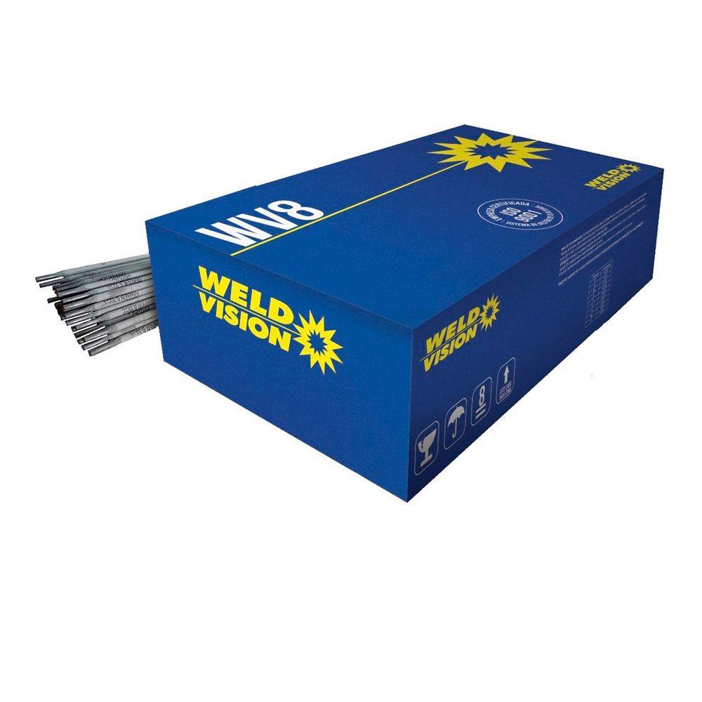 Eletrodo Revestido AWS 7018 3,2mm 5Kg Weld Vision