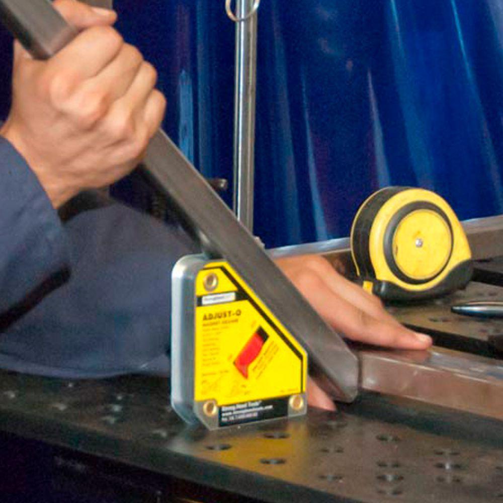 Esquadro Magnético  45º - 90º para 30Kg e 35Kg