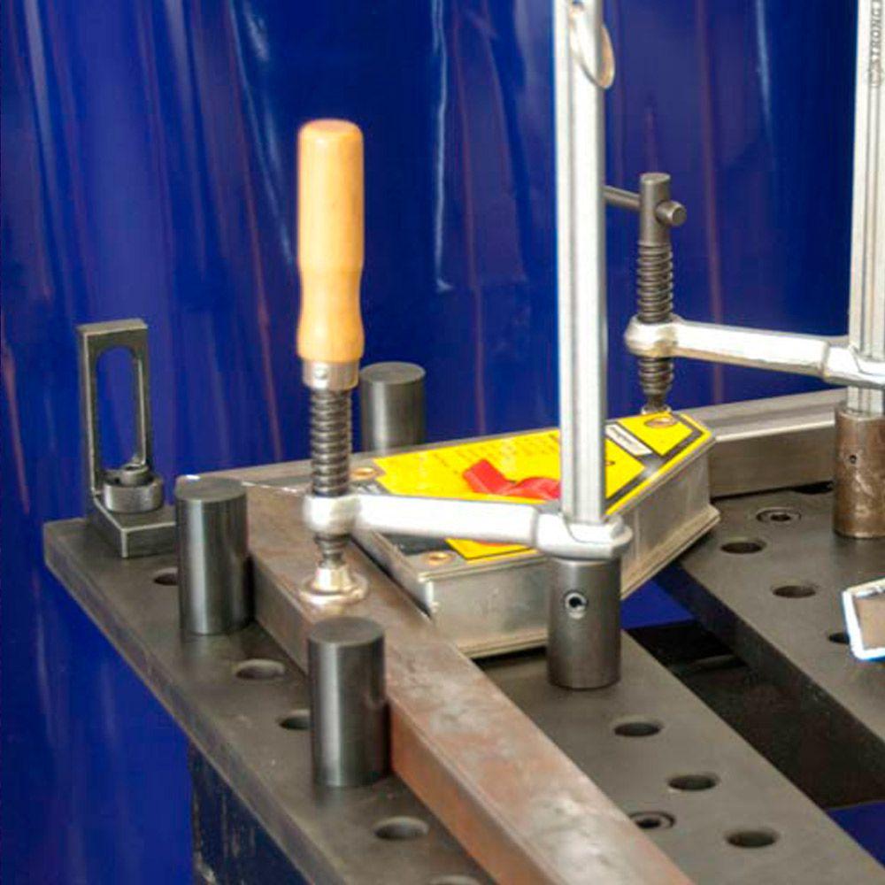 Esquadro magnético com Chave Liga e Desliga 65 e 75Kg