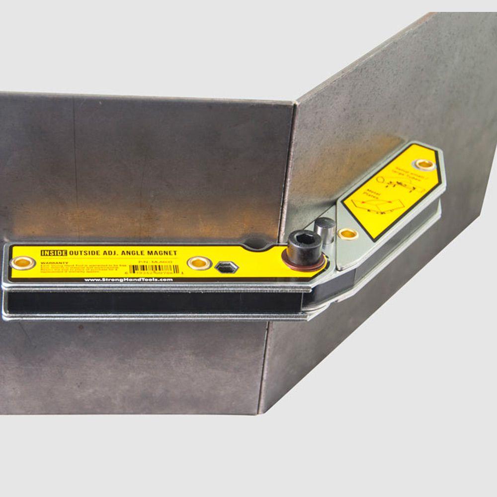 Esquadro Magnético Reto - Interno e Externo 90º / 30º-60º