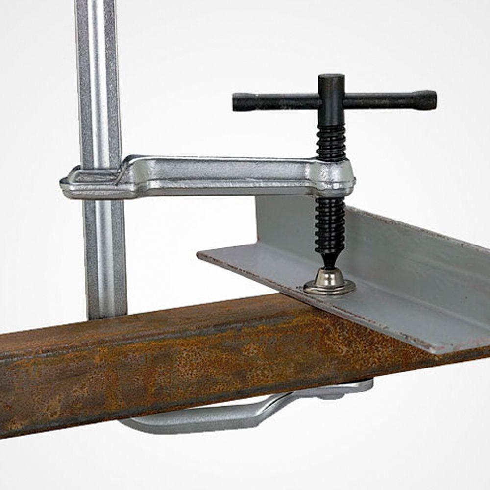 Grampo Mecânico Garganta Grande com Acessórios 4 em 1 215MM / 25MMX12MM
