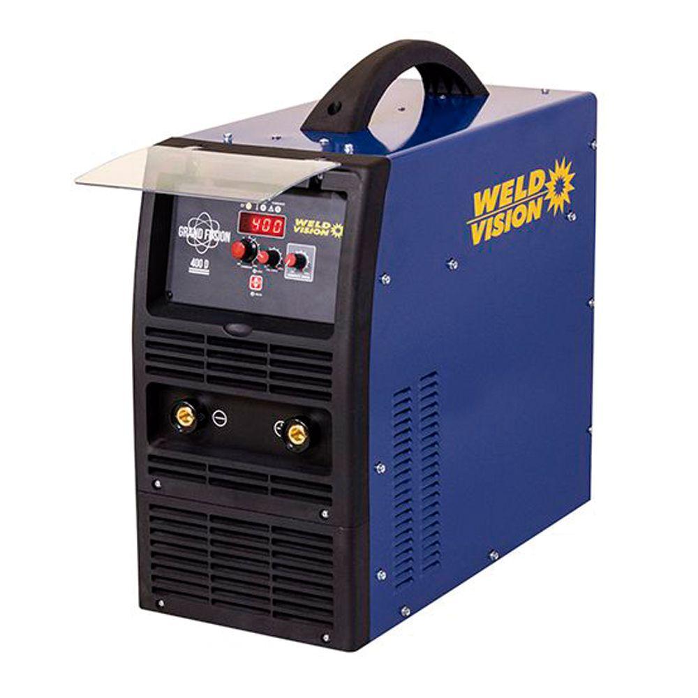 Inversora de solda Eletrodo TIG 400A trifásica 220V/380V  Grand Fusion Weld Vision
