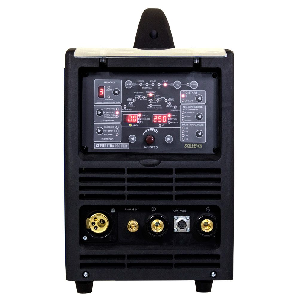 Inversora de Solda Guerreira 250 Pulse PHF